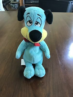 Cartoon Network Hanna-Barbera 2002 Huckleberry Hound Plush Stuffed Animal Toy 8""