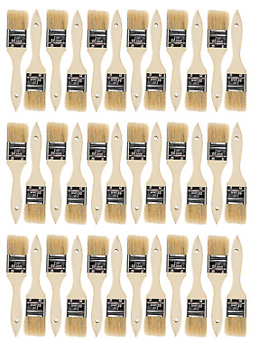 36 Pk- 1 1/2 inch Chip Paint Brushes for Paint, Stains,Varnishes,Glues,Gesso