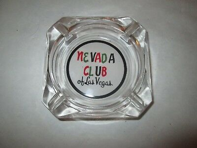 Nevada Club Las Vegas vintage casino ash tray