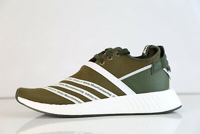 26fb43e50 Adidas X White Mountaineering WM NMD R2 PK Boost Olive CG3649 9-11.5 rf  ultra