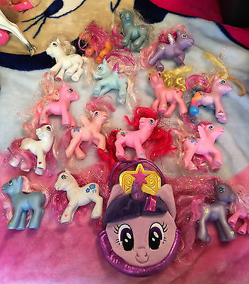 HUGE lot of Twinkle Sparkle Hair MY LITTLE PONY Ponies