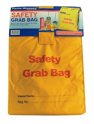 SAFETY GRAB BAG 60cm long by 30cm wide - Marine Boating Supplies