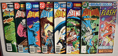 BRAVE AND THE BOLD  Lot of 7 Mixed '55 Series VG/Better PICTURES OF ACTUAL BOOKS