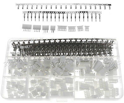 Dupont Wire Jumper Pin Header Connector Housing Kit and M/F Crimp Pins 560pcs