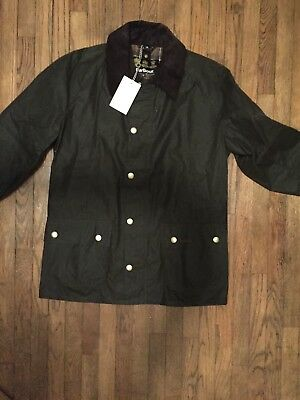 Brand NWT Barbour Ashby Sykoil Jacket Olive $399 Retail
