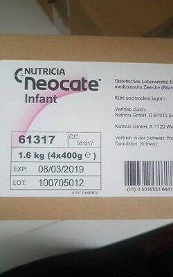 neocate infant säugling kuhmilchallergie per milch 4 x 400 g