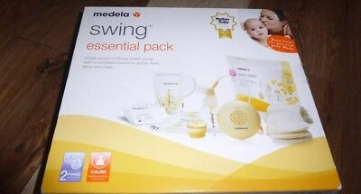 NEW Medela Swing Essential Pack Single Electric 2Phase Breast Pump 030.0056