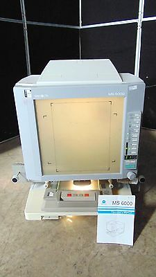 Minolta MS 6000 Microfiche Reader ~ Unit Powers Up ~ Responds ~ R505x