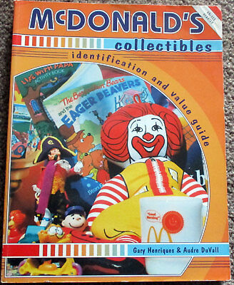 Book McDonald's Collectibles Identification and Value Guide Soft Cover 1997  D11