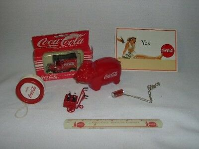 (7)  Variety Lot  Coca-Cola  Collectibles
