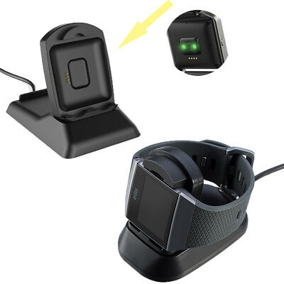 USB Power Charging Cradle Cable Dock Station Charger for Fitbit Blaze Watches AU