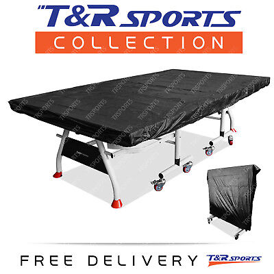 Multifunctional Table Tennis/Ping Pong Table Black Cover Free Postage