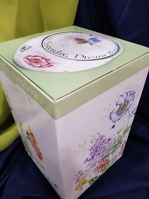 "NEW Lenox BUTTERFLY MEADOW Cookie Jar 9551144 Sentiment 9.5"" FREE SHIPPING"