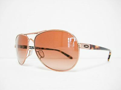 new authentic OAKLEY FEEDBACK Sunglasses Rose Gold/VR50 Brown Gradient OO4079-01
