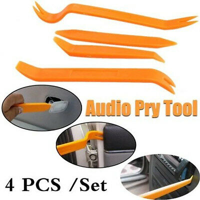 4X Car Audio Door Body Clip Panel Trim Dash Auto Radio Removal Pry Tool Set SY