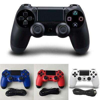USB Wired Game Controller For Sony PS4 Play Station 4 Joystick Gamepads AU Stock