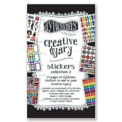 Dylusions Creative Dyary Sticker Book - Collection no.2 - NEW!