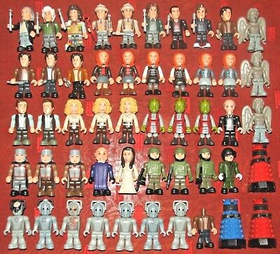 Doctor Who Character Building Micro Figure Lot Dr Who Dalek Companions Monsters
