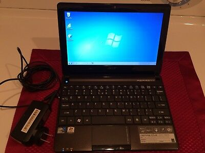 Acer Aspire One D257 10.1in. (250GB, 1.66GHz, 1GB) Laptop - Black
