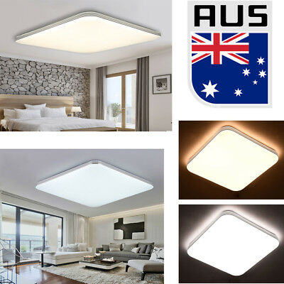 LED Ceiling Light 24W/48W/56W Cool white Modern Square Living Lamp Fixture Room