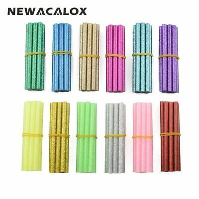 120pcs/lot Colorful Hot Melt Glue Sticks 7mm For Glue Gun High Viscosity Adhesiv