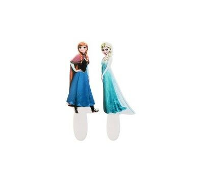 Decorazioni 2D In Zucchero Frozen Elsa E Anna Con Picks Modecor Per Torte Cake