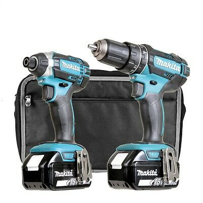 MAKITA DLXRJ2 18v Li-ion 3.0Ah Cordless 2 Piece Kit