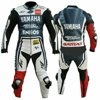 *M1*One Piece Motorcycle Leather Suit *Race Track CE approved protectors.