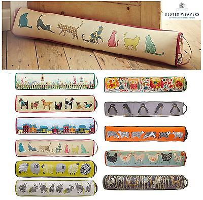 Ulster Weavers Weighted Fabric Door Draught Draft Excluder Stoppers Stop