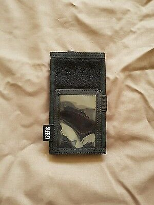 Sord black ID holder large