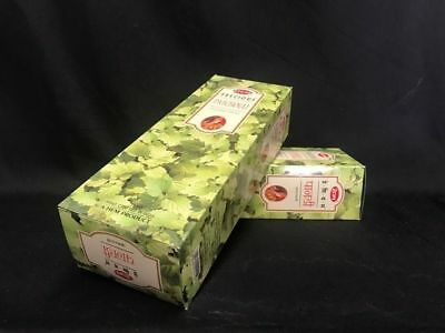 HEM Incense Sticks  2 boxes of 12 hexagon packets -Patchouli- FREE POSTAGE