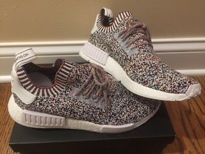 Adidas NMD_R1 PK Color Static Multicolor Rainbow Primeknit NMD R1 BW1126