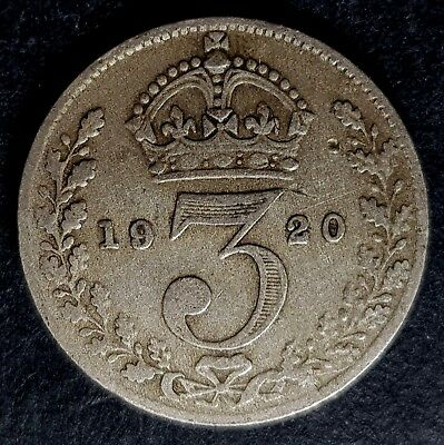 1920-1941 Silver Threepence Coin - Choose Your Year!