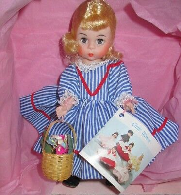 1976 Vintage Madame Alexander Red Riding Hood Doll, Hang Tag, Basket, & Box VGC