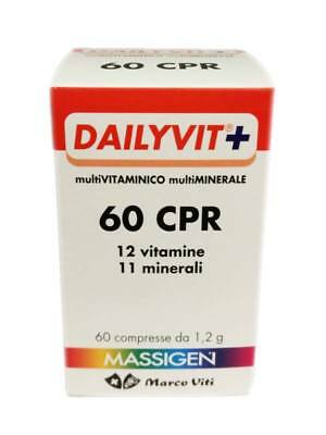 Dailyvit+ 60 Compresse Integratore Multivitaminico Multiminerale