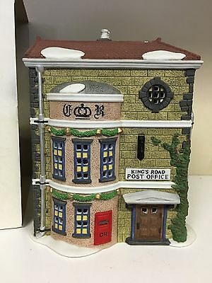 Department Dept 56 The Heritage Dickens Village Kings Road Post Office Retired