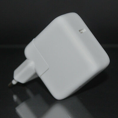 "Original Apple 29W USB-C Power Adapter Netzteil iPhone 8 X MJ262Z/A 12"" MacBook"