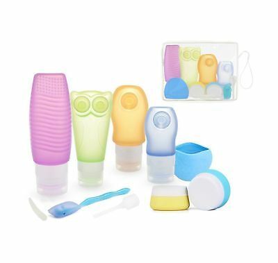 Travel Bottles Set ieGeek Silicone Toiletry Dispensing Travel Tubes Container...