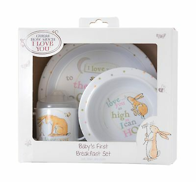 Guess How Much I Love You Breakfast Set By Rainbow Designs