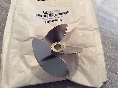 "Applikon Z81314RC07 Bio reactor Marine impeller (vortex) 5 and 7 liter D60/D8 ""V"
