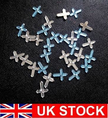 Faceted Rhinestone Crosses Christening Baptism Communion Boy/Girl Table Confetti