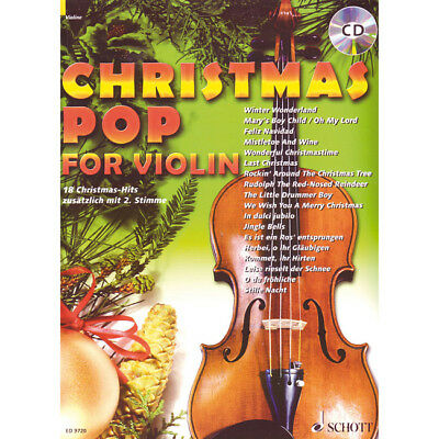 Schott Christmas Pop for Violin - 18 Christmas-Hits - Violine