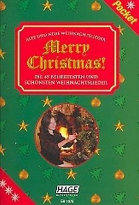 Edition Hage Merry Christmas Pocket - Songbook Melodie/Texte/Akkorde