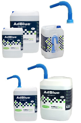Greenchem AdBlue Litre Diesel Exhaust Treatment Pouring Spout Pick Your Size