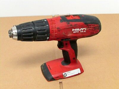 "HILTI SFH 18-A 18V 3-Speed 1/2"" Cordless Hammer Drill Driver - Bare Tool Only!"