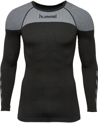 Hummel First Comfort Jersey Longsleeve Functional Sweater Black 104327 2001 SALE