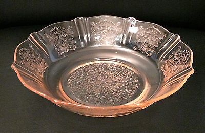 American Sweetheart Pink Depression Glass Cereal Bowls (4)