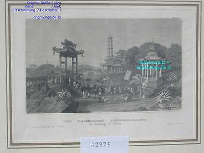 42975-Asien-Asia-China-NANKING-NANJING-Stahlstich-Steel engraving-1860