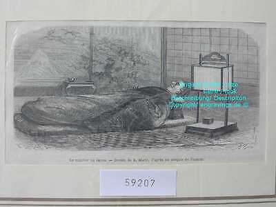 59207-Asien-Asia-Japan-Nippon-Nihon-Bett-Bed-TH 1870