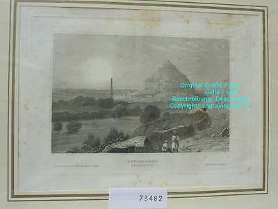 73482-Asien-Asia-Indien-India-Dowlutabad-Stahlstich-Steel engraving-1836